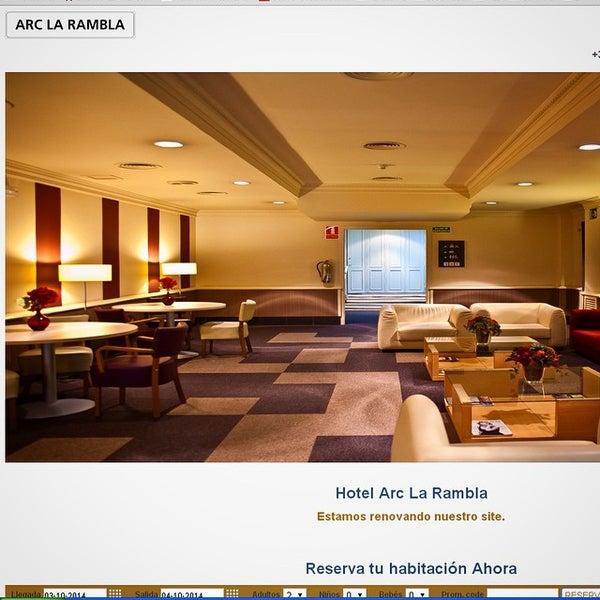 Foto diambil di Hotel Arc La Rambla oleh emarketing a. pada 10/3/2014