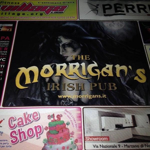 Снимок сделан в Morrigan's Irish Pub пользователем Francesco Ciccio U. 11/3/2013