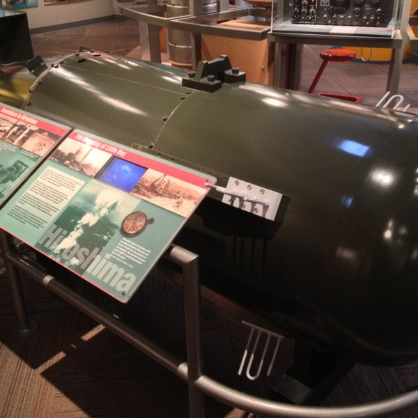 Photo taken at Bradbury Science Museum by Jason S. on 8/14/2013