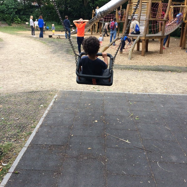 Photo Taken At Merrion Square Playground By Alan D On 7 15 2017