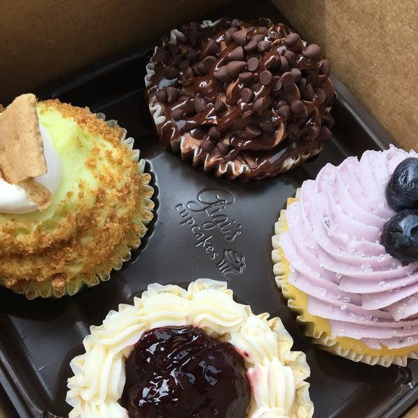 8/25/2017 tarihinde Patrizioziyaretçi tarafından Gigi's Cupcakes'de çekilen fotoğraf