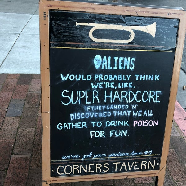 Photo taken at Corners Tavern by Will M. on 3/25/2018