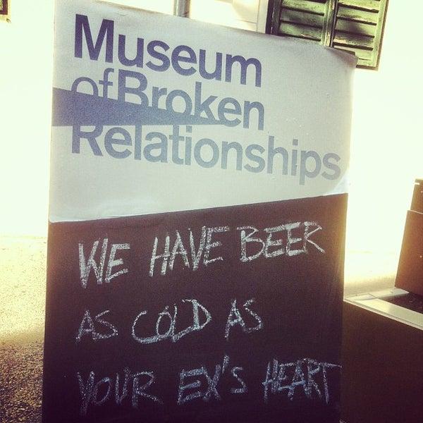 9/7/2013 tarihinde Matt P.ziyaretçi tarafından Muzej prekinutih veza | Museum of Broken Relationships'de çekilen fotoğraf