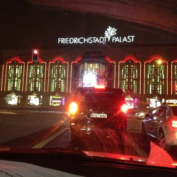 Das Foto wurde bei Friedrichstadt-Palast von Tanja F. am 1/16/2013 aufgenommen