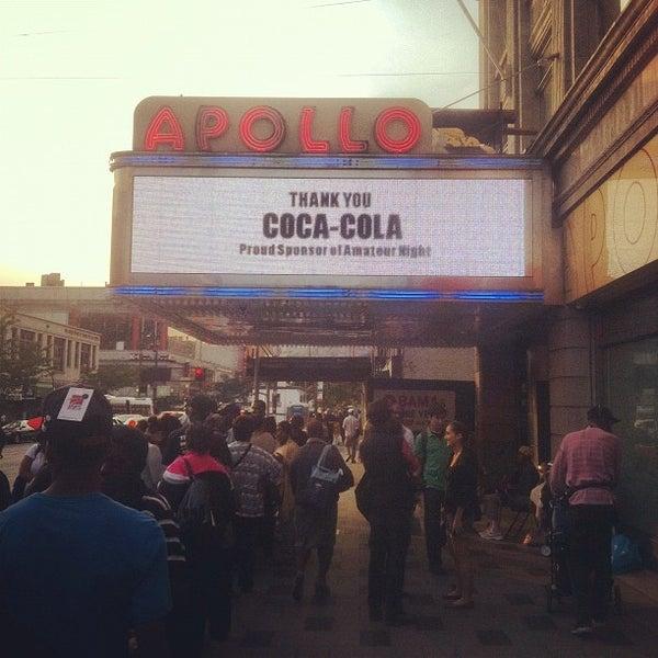 9/17/2012 tarihinde Victor A.ziyaretçi tarafından Apollo Theater'de çekilen fotoğraf