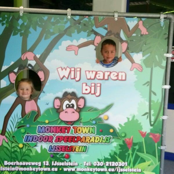 photos at monkey town - playground