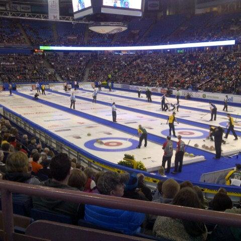 3/2/2013 tarihinde Cameron B.ziyaretçi tarafından Northlands Coliseum'de çekilen fotoğraf