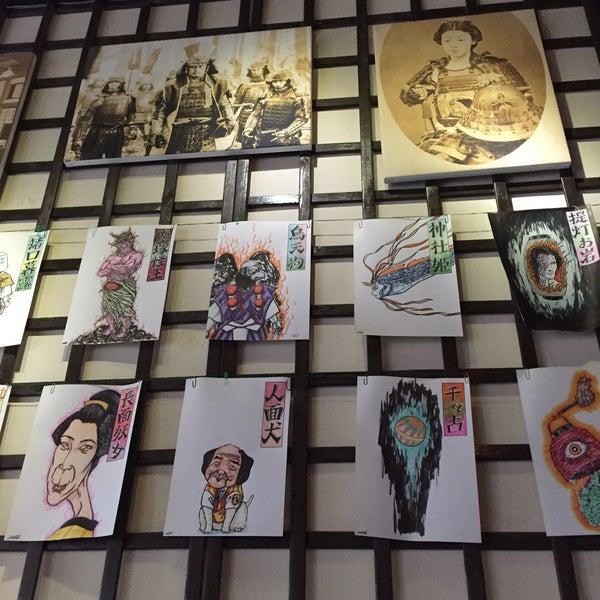 4/27/2016 tarihinde Lorenzo C.ziyaretçi tarafından Banyi Japanese Dining'de çekilen fotoğraf