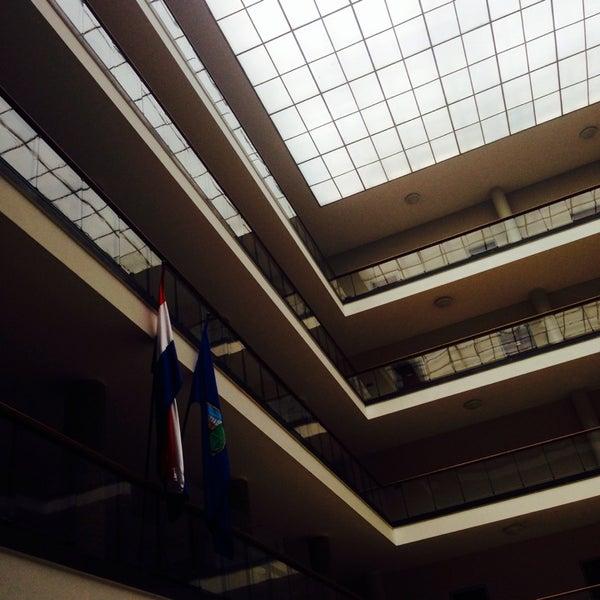 Gradska Uprava Grada Zagreba City Hall In Zagreb