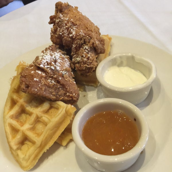 Chicken and waffles oh my... Picture does not do it justice!!!