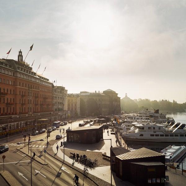 Foto tirada no(a) Grand Hôtel Stockholm por Grand Hôtel Stockholm em 1/21/2015