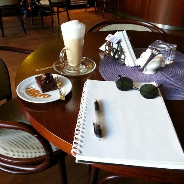 Photo taken at Tea & Coffee garden by Aija Māra B. on 10/1/2014