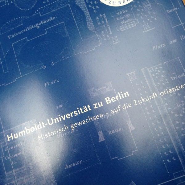 3/1/2013에 A. IREM A.님이 Humboldt-Universität zu Berlin에서 찍은 사진