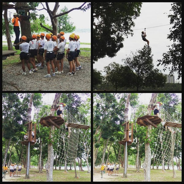 8/15/2015にEileen L.がForest Adventure (Bedok Reservoir Park)で撮った写真