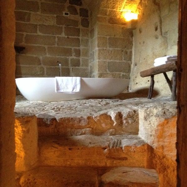 Снимок сделан в Sextantio | Le Grotte della Civita пользователем Sara P. 4/30/2014