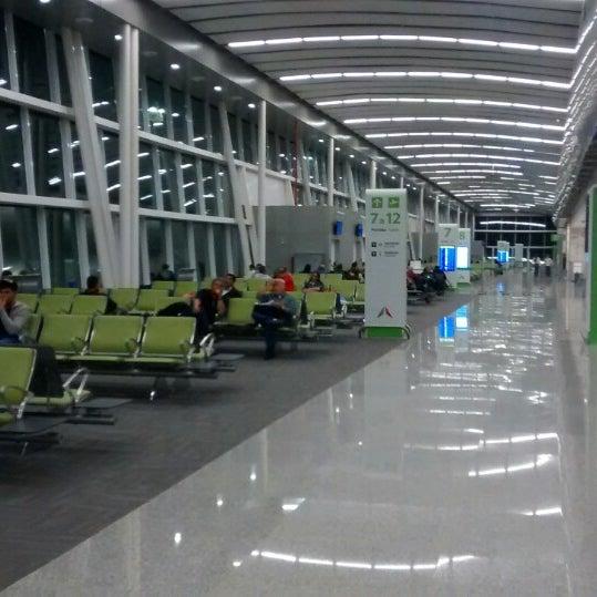 Снимок сделан в Aeroporto Internacional de Natal / São Gonçalo do Amarante (NAT) пользователем Sergio R. 9/15/2014