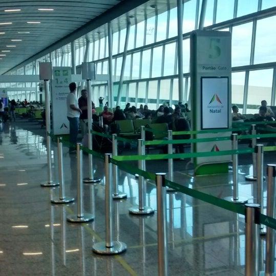 Снимок сделан в Aeroporto Internacional de Natal / São Gonçalo do Amarante (NAT) пользователем Sergio R. 8/18/2014
