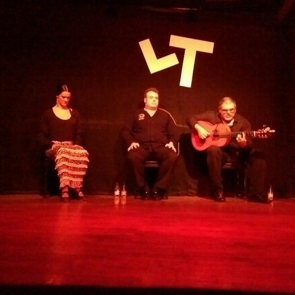 Снимок сделан в Las Tablas Tablao Flamenco пользователем Cihan E. 11/7/2014