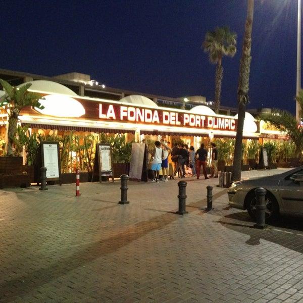 Foto scattata a La Fonda del Port Olímpic da David H. il 6/14/2013