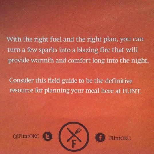 Foto diambil di FLINT oleh Wendy J. pada 10/16/2012