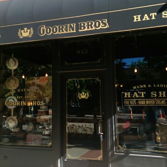 19b86a930ae Photo taken at Goorin Brothers Haberdashery by Patrick M. on 6 20 2014