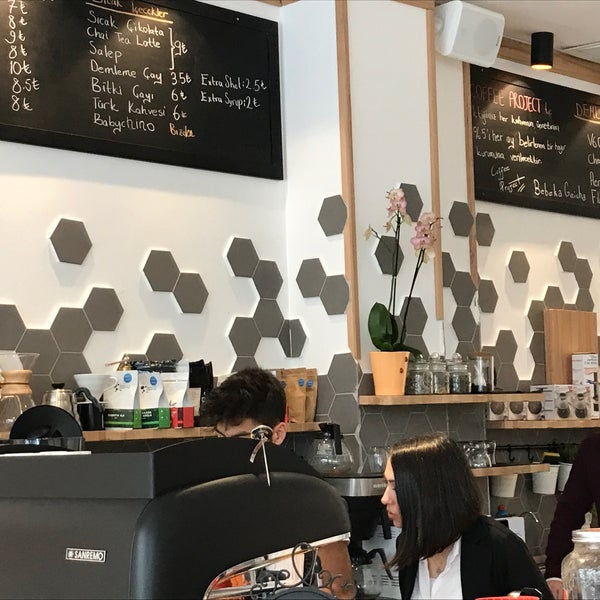 3/11/2017 tarihinde Waterlily 7.ziyaretçi tarafından Coffee Project'de çekilen fotoğraf