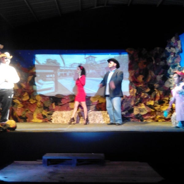 รูปภาพถ่ายที่ La Casona Del Arbol Teatro-Bar & Cocina Show Center โดย Raymundo R. เมื่อ 12/20/2015