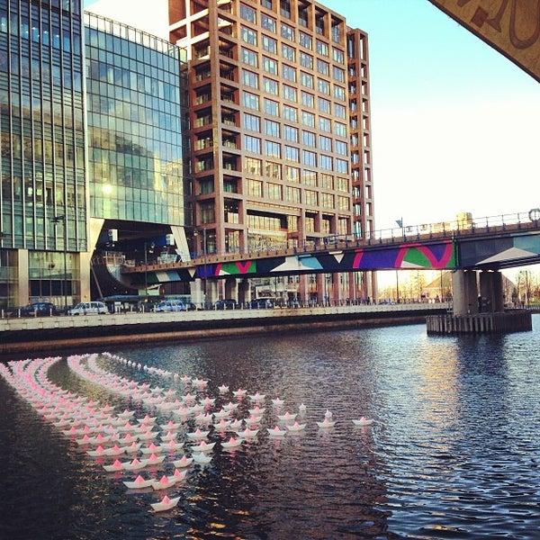Foto scattata a Canary Wharf da Alex M. il 12/17/2012
