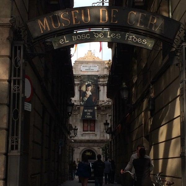 9/16/2017にOlga S.がMuseu de Cera de Barcelonaで撮った写真