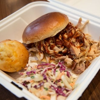 The pulled pork at Blackwood BBQ is one of the 100 best things we ate this year. http://tmout.us/rLOtk
