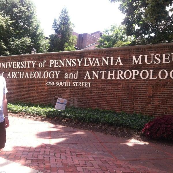 Das Foto wurde bei University of Pennsylvania Museum of Archaeology and Anthropology von Summ B. am 7/5/2013 aufgenommen