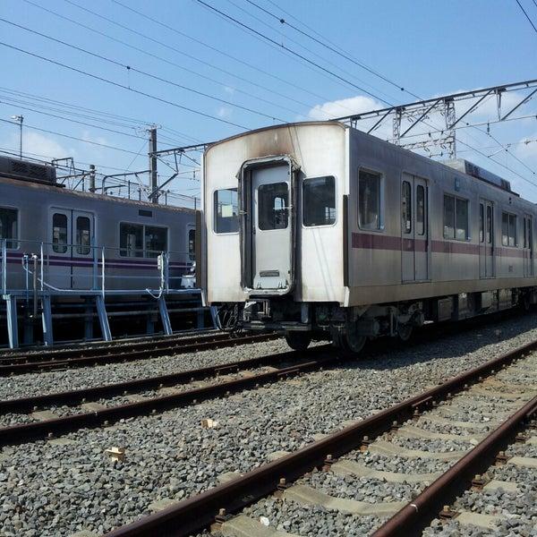 Photos at 東京メトロ 鷺沼検車...