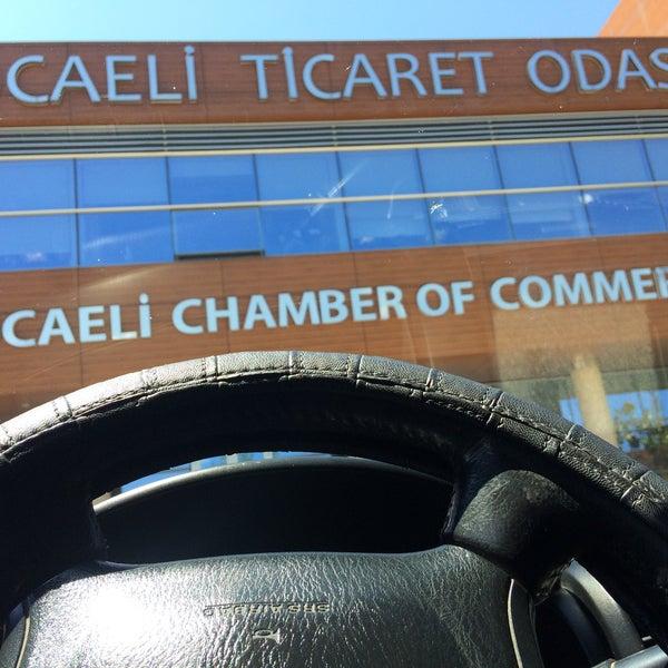 6/13/2017 tarihinde Tumruhan B.ziyaretçi tarafından Kocaeli Ticaret Odası'de çekilen fotoğraf