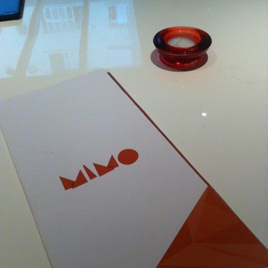 Foto tirada no(a) MIMO Restaurante por Aline Mikulis em 12/14/2012