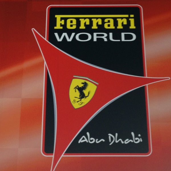 Photo prise au Ferrari World Abu Dhabi par Olivier B. le3/9/2013