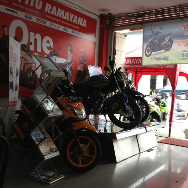Honda Ramayana Motorcycle Shop In Surabaya