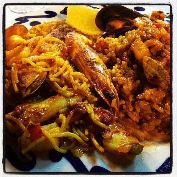Das Foto wurde bei Restaurante Salamanca von Alba R. am 9/14/2012 aufgenommen