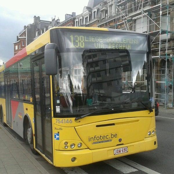 Photos at 138 LIEGE - Ligne de bus TEC - Bus Line in Verviers