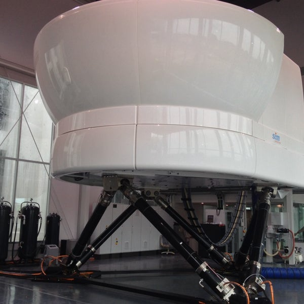 Photos at Full-Flight Simulator Building - Samut Prakarn