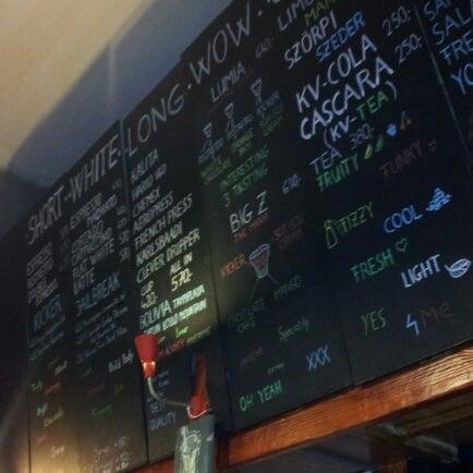 10/1/2012에 Zoltán N.님이 Tamp & Pull Espresso Bar에서 찍은 사진