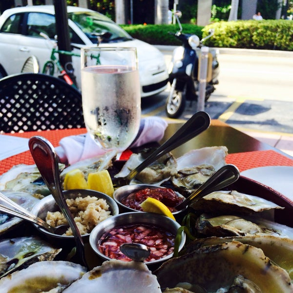 West coast oysters & bottomless bellini brunch.