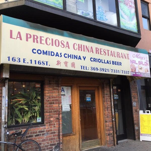 Chinese Restaraunts: Chinese Restaurant In East Harlem