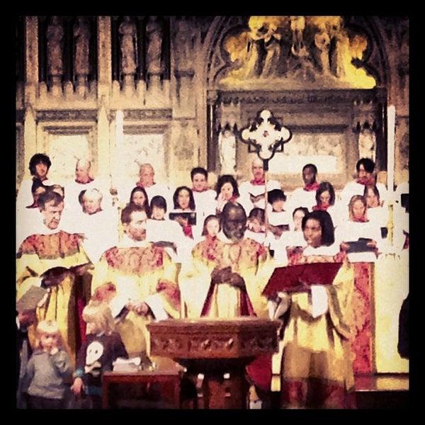 Foto scattata a Trinity Church da Trinity W. il 11/4/2012
