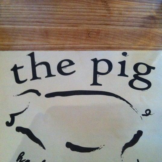 Снимок сделан в The Pig пользователем James E. 4/7/2013