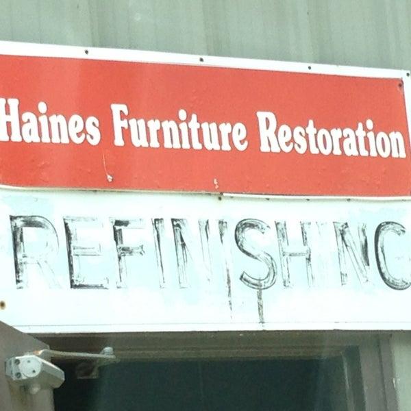 Photo Taken At Haines Furniture Restoration By John C On 7 11 2017