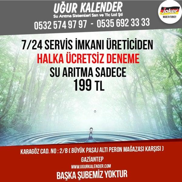 Photos at Joker Su Arıtma Uğur Kalender 0532 574 97 97 - Shopping Mall