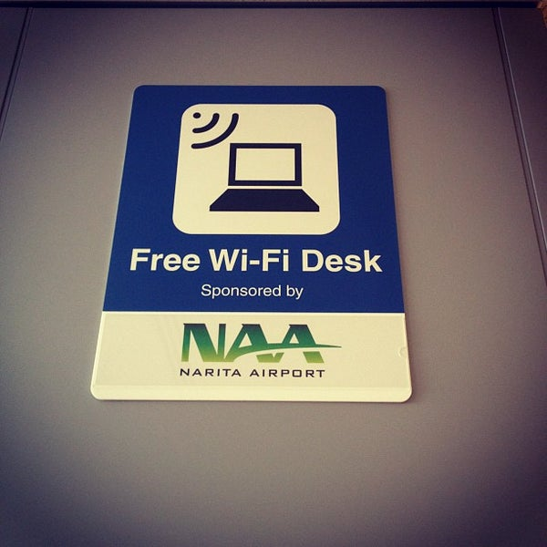 Photos at NRT Free WiFi Desk - Airport Lounge in Narita