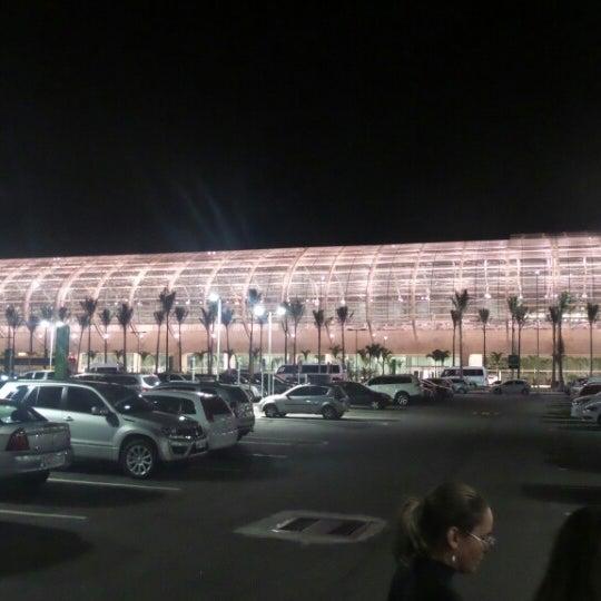 Снимок сделан в Aeroporto Internacional de Natal / São Gonçalo do Amarante (NAT) пользователем Michell C. 8/4/2014