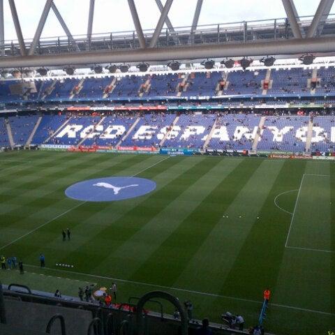 Foto diambil di RCDE Stadium oleh Pilar S. pada 5/26/2013
