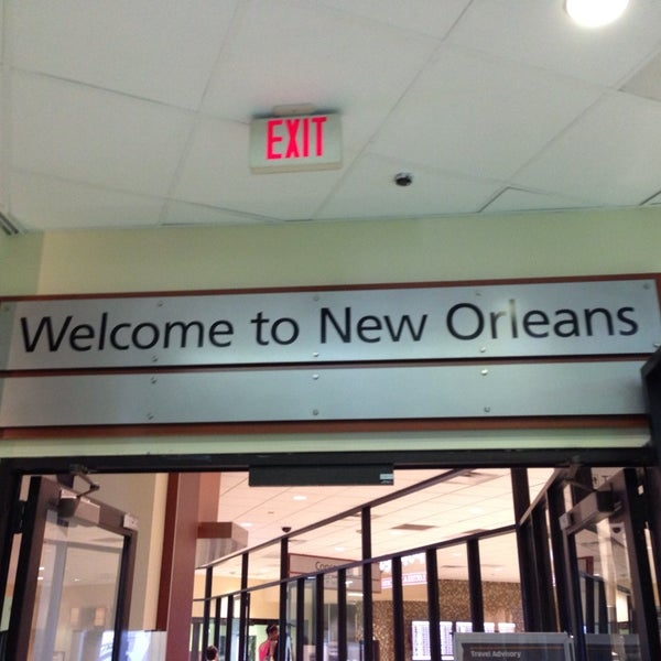 7/19/2013에 Janis C.님이 Louis Armstrong New Orleans International Airport (MSY)에서 찍은 사진